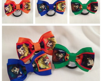 Sailor Moon and the Sailor Scouts s Hair Bow - 2 inches