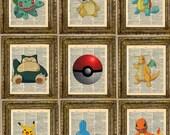 Pokemon Customizable Dictionary Art Series