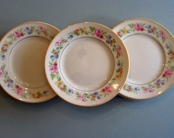 Syracuse Fine China Old Ivory - Cliftondale Pattern - Bread and Butter Plates - Set of 5