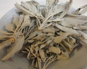White Sage Loose Leaf  for cleansing, remove negativity, wisdom longevity, protection, wishes