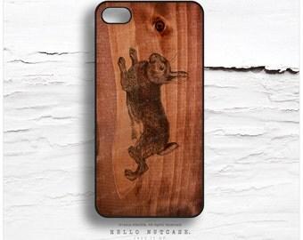 iPhone 7 Case Wood Rabbit iPhone 7 Plus iPhone 6s Case iPhone SE Case iPhone 6 Case iPhone 6s Plus iPhone iPhone 5S Case Galaxy S6 Case T122