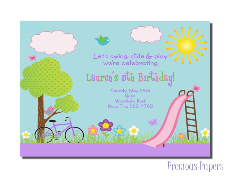 Company Picnic Invitation is good invitations sample