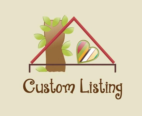 Sarah H. Custom Listing