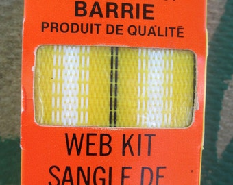 Web kit Yellow Lawn Chair re-web kit in original package Re-Web Kit Outdoor Webbing for Patio Lawn Chair