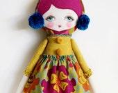 Matilda Cloth Doll Supply Kit