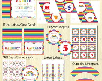 Rainbow Party Set