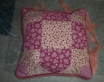 Cute Patchwork Pillow