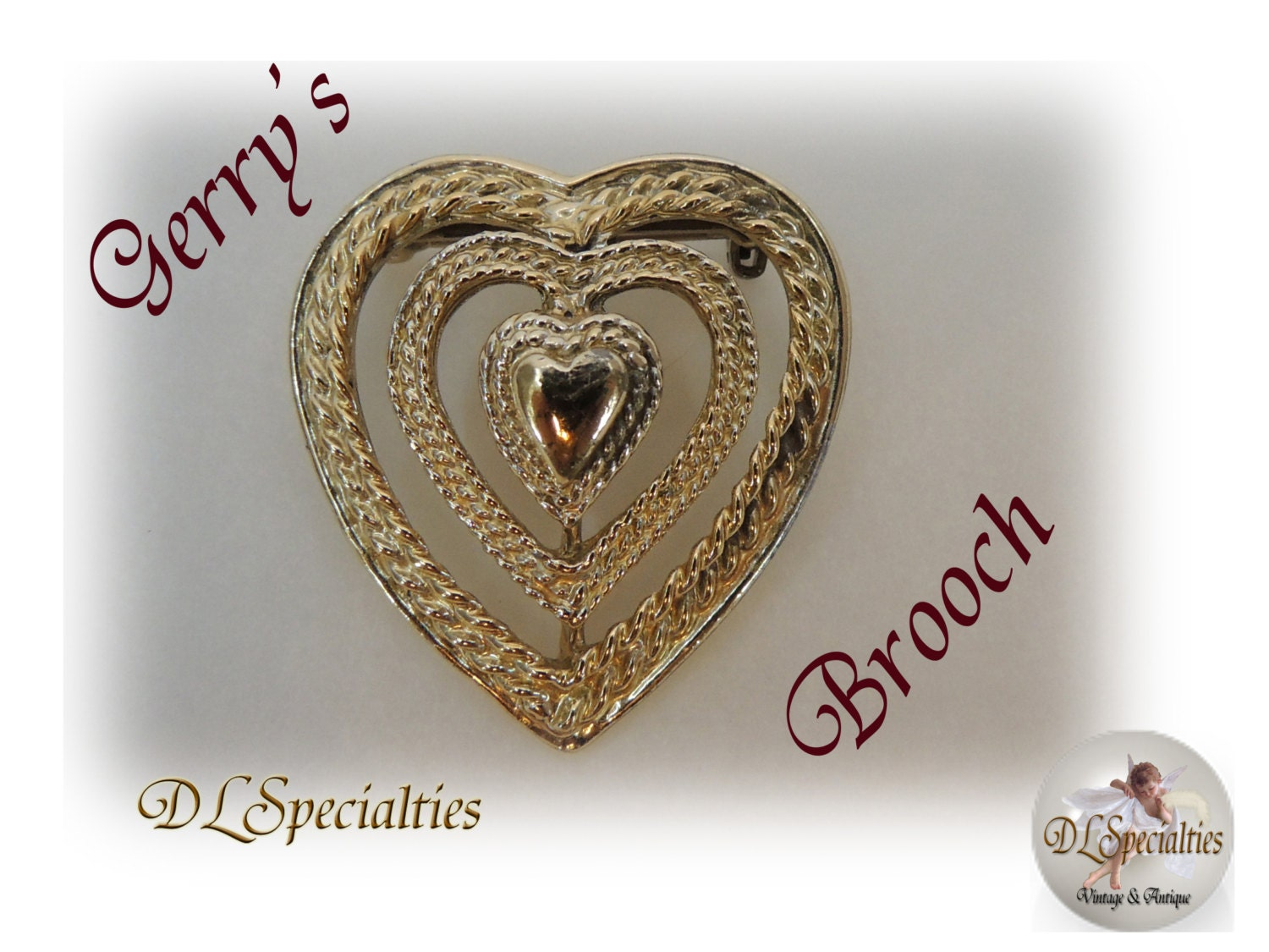 gerry s vintage jewelry brooch by dlspecialties on etsy