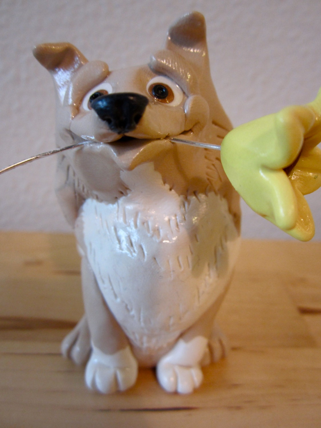Custom Pet Dog Wedding Cake Toppers Labrador and by Tobbers