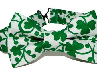 Bow Tie - Green Shamrock Bowtie