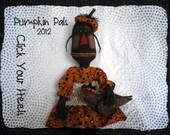 E Pattern Pumpkin Pals Pattern Click Your Heels