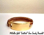 "Metallic Gold ""Cocktail"" Arm Candy Bangle Bracelet"