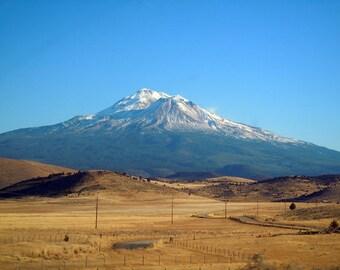 "Mt. Shasta1 Photograph, 11""x14"""