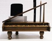 Miniature Grand Piano Desk Organizer (9 x 3.5 inch)