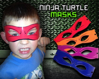 Ninja Turtle Masks (Digital File)