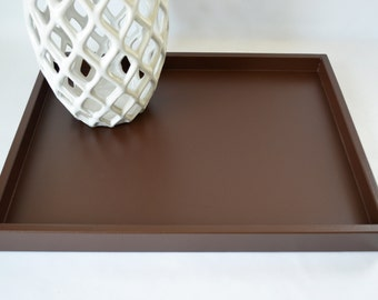 Popular items for shallow tray on etsy for Shallow coffee table