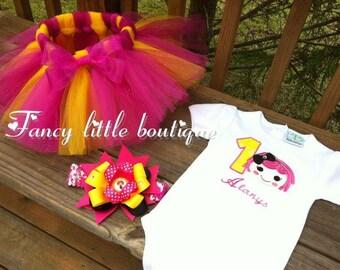 Lala loopsy sugar crumbs Birthday tutu outfit