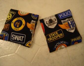 Law Enforcement Print Hand Warmer Corn Cozies