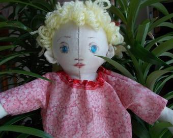 Cuddily Cloth Doll Half Elf