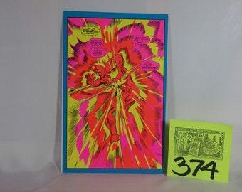1971 Marvel Superhero Greeting card by Third Eye Press