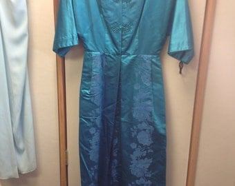 Vintage Blue Dynasty Dress.