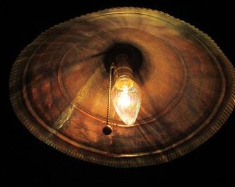 Copper Funnel Lamp