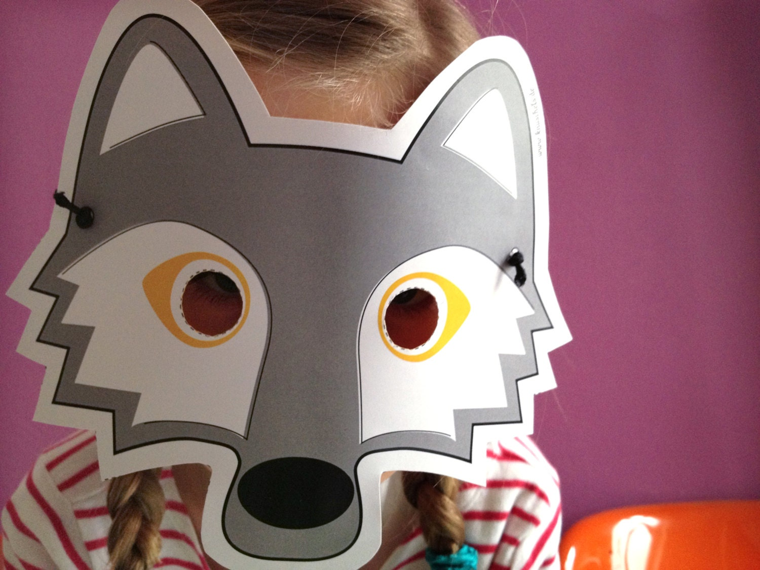 Dynamic image with regard to printable wolf masks