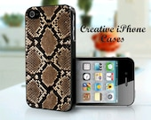 iPhone 5 Snake Skin phone case - iPhone 4 Case, iPhone 4S Case, iPhone 5, iPhone 5S, iPhone 5C, iPhone 6, iPhone 6 plus