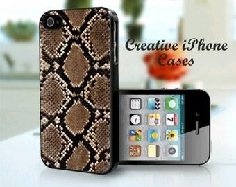 iPhone 5 Snake Skin phone case - iPhone 4 Case, iPhone 4S Case, iPhone 5, iPhone 5S, iPhone 5C, iPhone 6, iPhone 6 plus