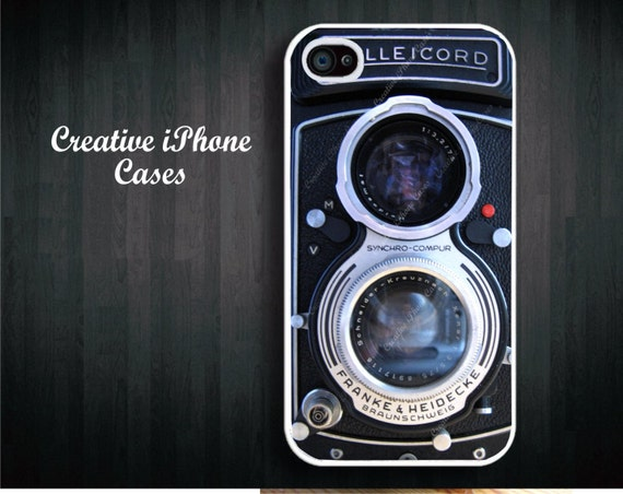 Vintage Camera Rollicord for iphone 4/4S, iPhone 5/5s, iPhone 5c, iPod Touch 4, iPod Touch 5, Samsung Galaxy S4, Samsung Galaxy S3