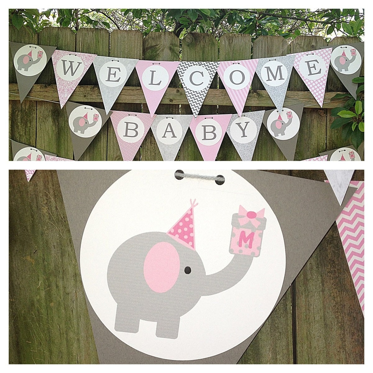 Elephant Themed Baby Shower: Elephant Themed Baby Shower Or Birthday By TwoDoodlesDesigns