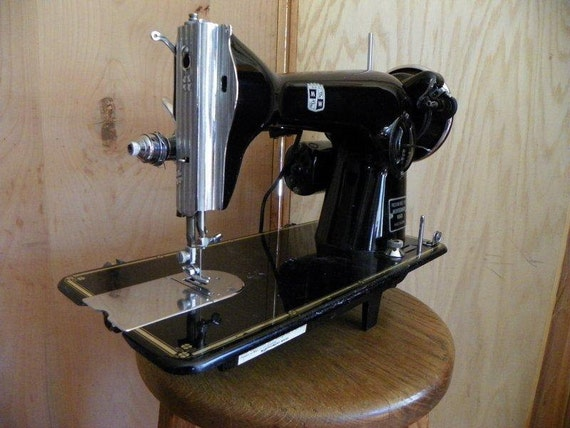 Restored Japanese Montgomery Wards Sewing Machine w/Service Guaranty, vintage, Free Shipping!