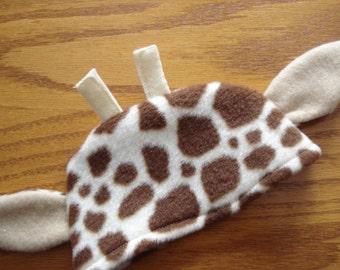 """American Girl 18"""" Doll Clothes  new - Giraffe Hat fleece fabric DYD081"""