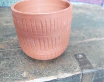 Handmade Terra Cotta Cup 1971