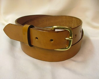 Bridle Leather Belt 1 1/4 inch wide-No.B 3035