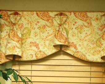 "BUNNY NO EARS 2 Hidden Rod Pocket® Window Treatment to fit 45""- 55"" window, Made to Order using customer's fabrics"