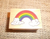 Rainbow-Rubber Stamp
