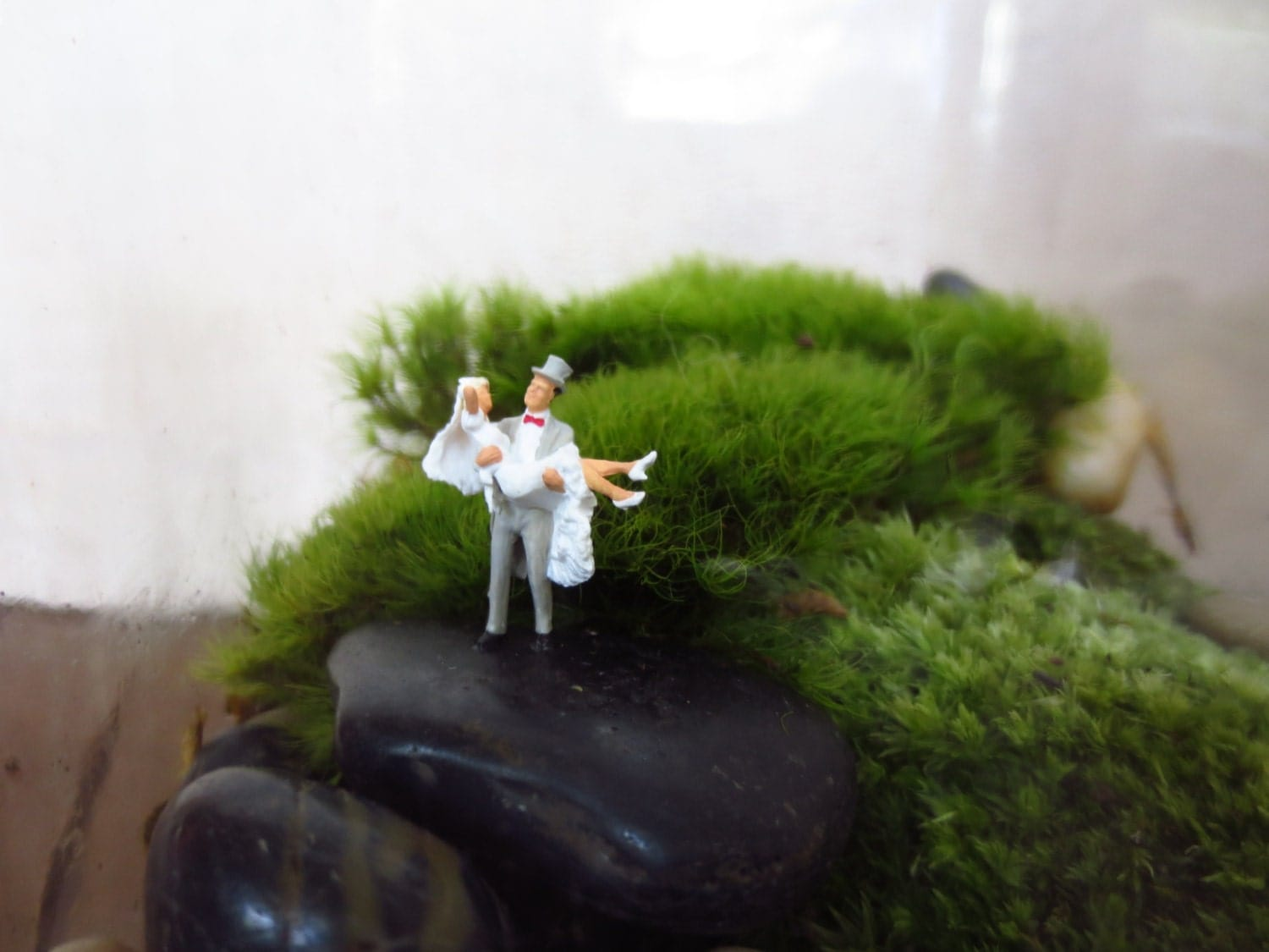 Over The Threshold.... Terrarium AccessoryMiniature By