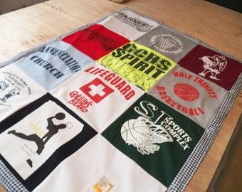 12 T-Shirt Quilt