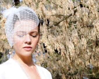 Wedding Earrings Bridal, Pink rose earrings, bridal earrings, Bridal Jewelry, Wedding Jewelry, bridemaid jewelry, Beach Wedding