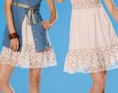 Burda 7683 DRESS AND VEST Pattern