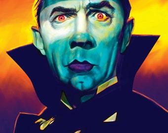 Bela Lugosi Dracula Art Print