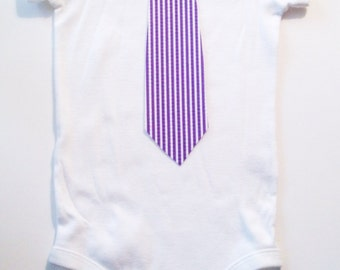 baby easter tie onesie , boy baby bodysuit
