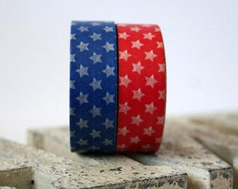 4th of July Washi Tape Set of 2
