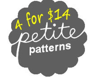Any 4 Patterns for 14 dollars