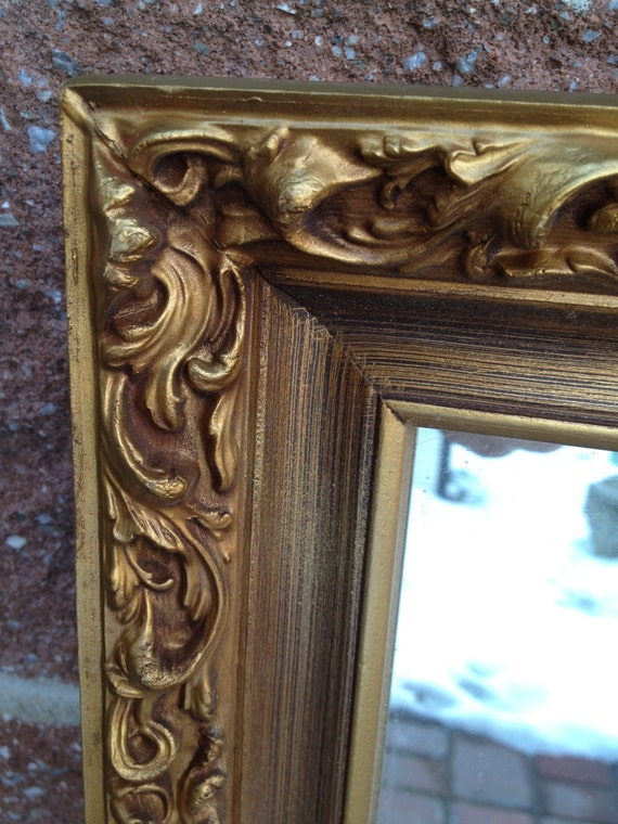 Sale Ornate Gilt Mirror Vintage Never Used On Sale