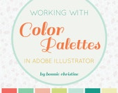working with color palettes in adobe illustrator tutorial