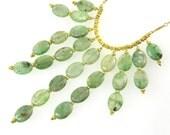 Green Kyanite Gemstones Necklace