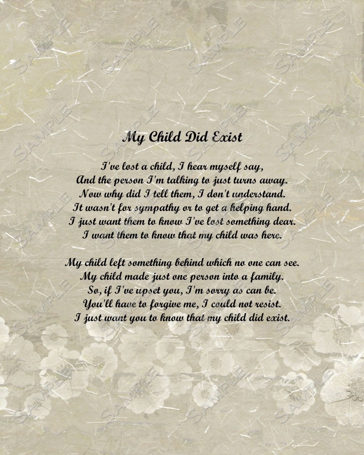 Sympathy Quotes For Loss Of A Child Child memorial poem digitalSympathy Quotes For Loss Of A Child