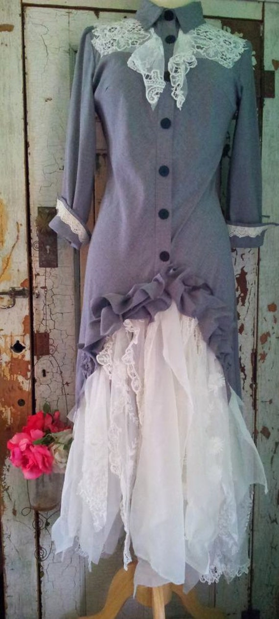 Reserved / Upcycled Clothing / Western Wedding By